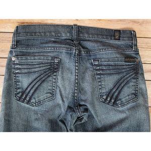 7 FOR ALL MANKIND Dojo Wide Leg Trouser Jeans 26